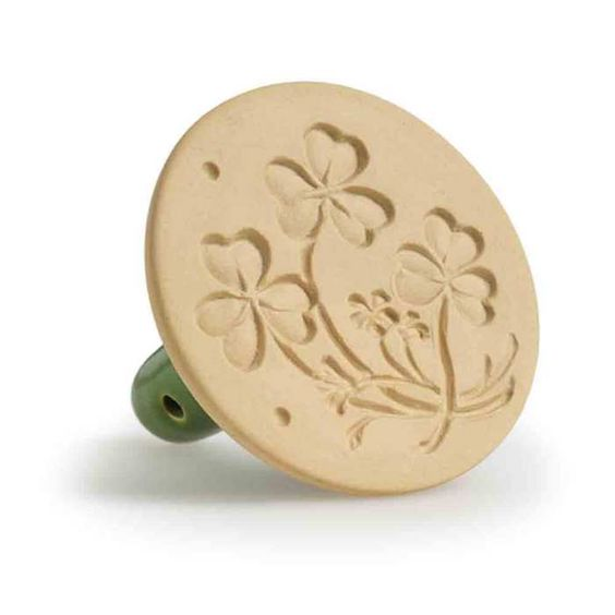 Shamrock Cookie Stamp | Faith, Hope, Love, and Luck Survive Despite a Whiskered Accomplice
