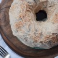 Cinnamon Apple Jelly Donut Cake   Faith, Hope, Love, and Luck Survive Despite a Whiskered Accomplice