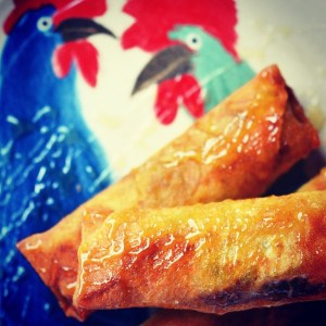 Instagram - Cajun Shrimp Egg Rolls | Faith, Hope, Love, and Luck Survive Despite a Whiskered Accomplice