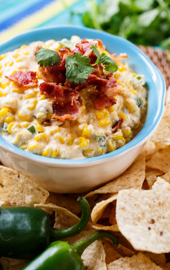 Slow Cooker Corn Dip | Faith, Hope, Love, and Luck Survive Despite a Whiskered Accomplice