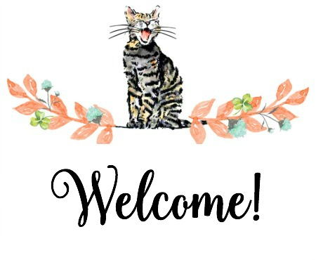 Welcome! | Faith, Hope, Love, and Luck Survive Despite a Whiskered Accomplice