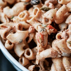 Instagram - Mexican Cream Cheese Pasta Salad | Faith, Hope, Love, and Luck Survive Despite a Whiskered Accomplice