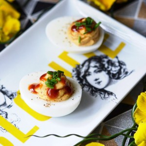 Instagram - 5 Ingredient Barbecue Deviled Eggs | Faith, Hope, Love, and Luck Survive Despite a Whiskered Accomplice
