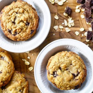 Instagram - Brown Butter Oatmeal Chocolate Chunk Cookies | Faith, Hope, Love, and Luck Survive Despite a Whiskered Accomplice