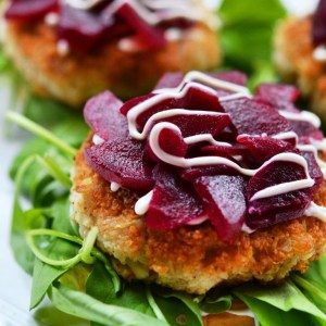 Instagram - Seafood Sliders with Pickled Beets & Baby Arugula | Faith, Hope, Love, and Luck Survive Despite a Whiskered Accomplice