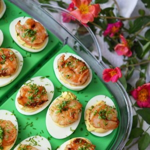 Instagram - Honey-Barbecue Shrimp Deviled Eggs | Faith, Hope, Love, and Luck Survive Despite a Whiskered Accomplice
