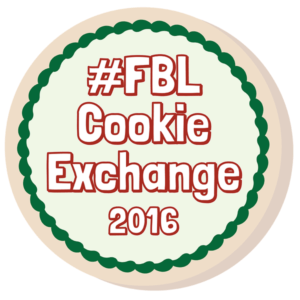 Food Blogger Love Cookie Exchange 2016 | Faith, Hope, Love, and Luck Survive Despite a Whiskered Accomplice