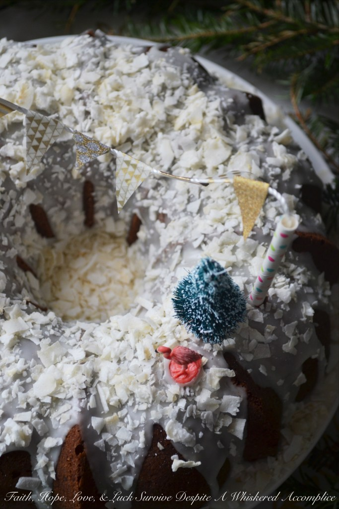 Tropical Winter Wonderland Bundt Cake Bundtbakers