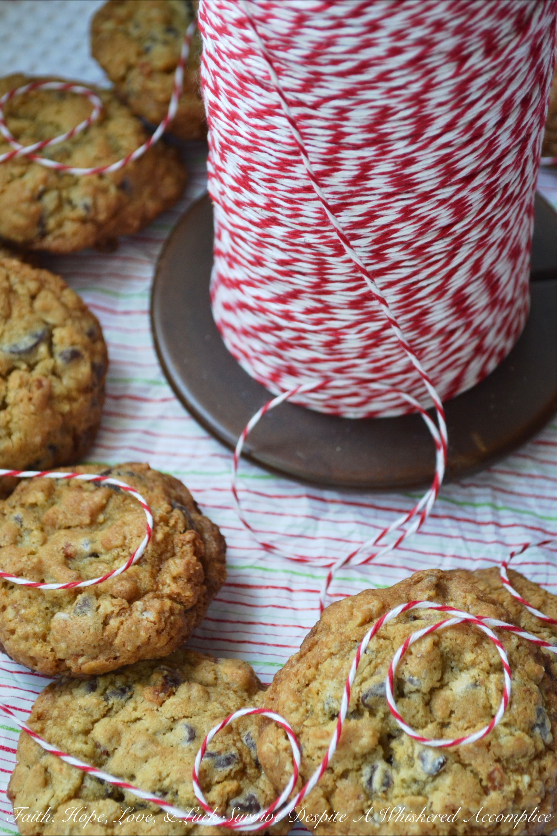 Santa's Bacon Chocolate Chip Cookies