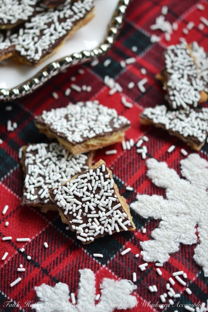 This Special Winter Cracker Candy is the perfect chocolate-covered snow day treat to get you through the cold winter days leading up to spring.