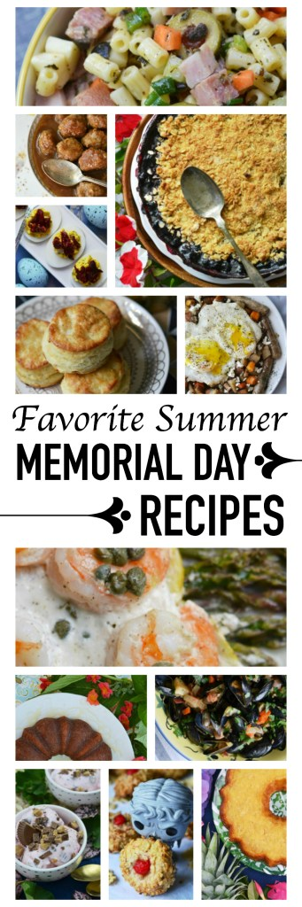 Make your 3-day weekend special with these unique and scrumptious Memorial Day holiday recipes. Say hello to sun, picnics, cookouts, and all things summer.