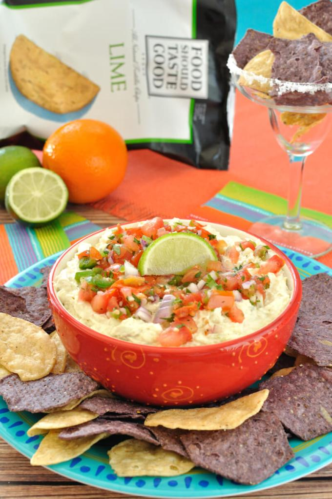 Crockpot Margarita Chicken Dip - Dip Recipe Creations