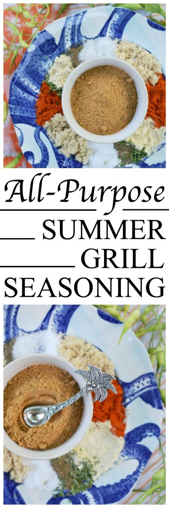 Get your grills ready. This simple blend of herbs, spices, and seasonings will have you grilling practically everything this summer.