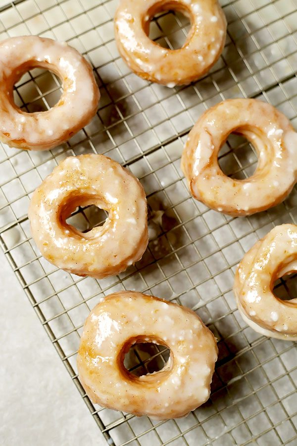 Puff Pastry Cronuts with Buttermilk Glaze - Food, Folks and Fun