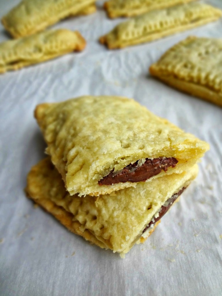 Chocolate Peanut Butter Breakfast Pastries - The Cooking Actress
