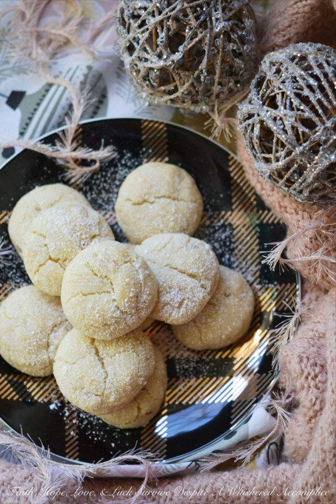 Lemon and ginger add a unique twist to these traditional crinkle cookies, making each bite sweet, tart, and just a little bit spicy.