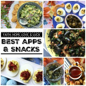 We're counting down the days until New Year's 2018 by sharing our best and favorite appetizers and snacks of the year 2017.
