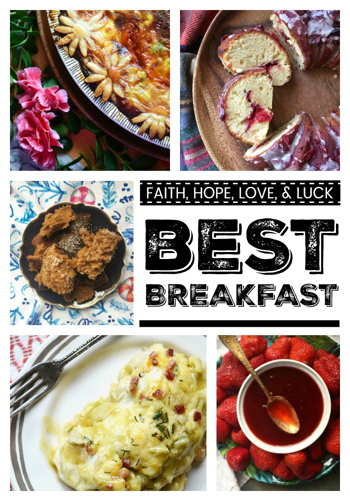 We're counting down the days until New Year's 2018 by sharing our best and favorite most delicious breakfast recipes of the year 2017.