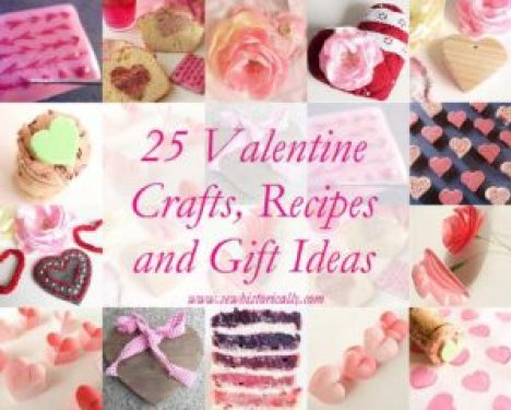 25 Valentine Crafts, Recipes and Gift Ideas - Sew Historically - Welcome to the Friday Frenzy, the best food and craft link party on the web. Visit us this week to see what recipes and crafts we are most excited about.