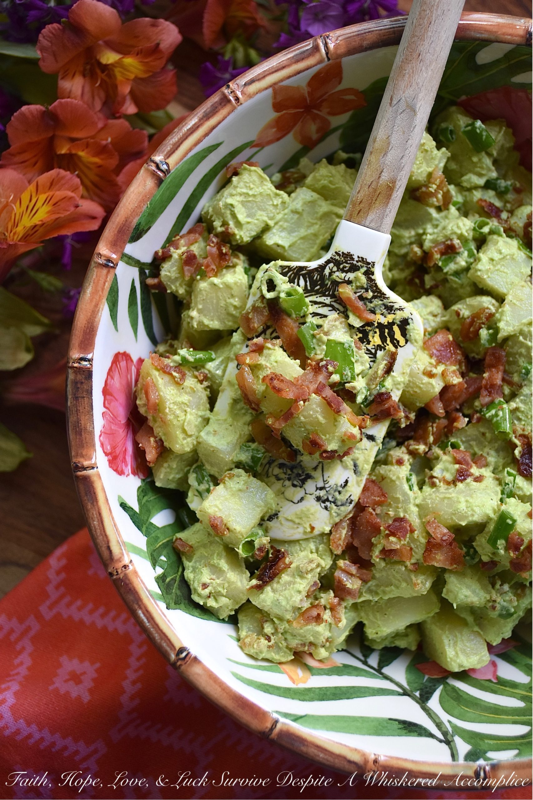 Potato Salad With Sour Cream And Bacon