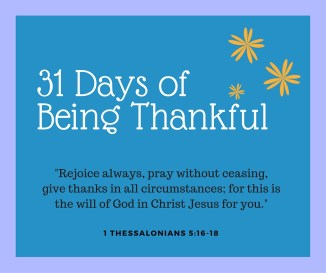 Gratitude has become popular today as studies have shown that to have an attitude of gratitude makes people more energetic, more optimistic, less likely to be depressed, envious, greedy, or alcohol dependent, and more likely to earn more money, sleep better, have more energy and greater resistance to viral infections. Isn't it amazing to know that God also prescribes being thankful!