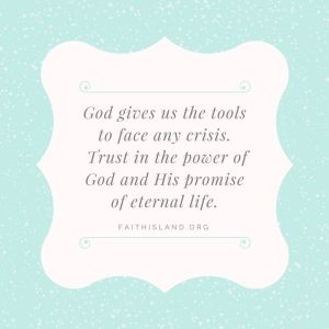 God gives us the tools - Faithisland