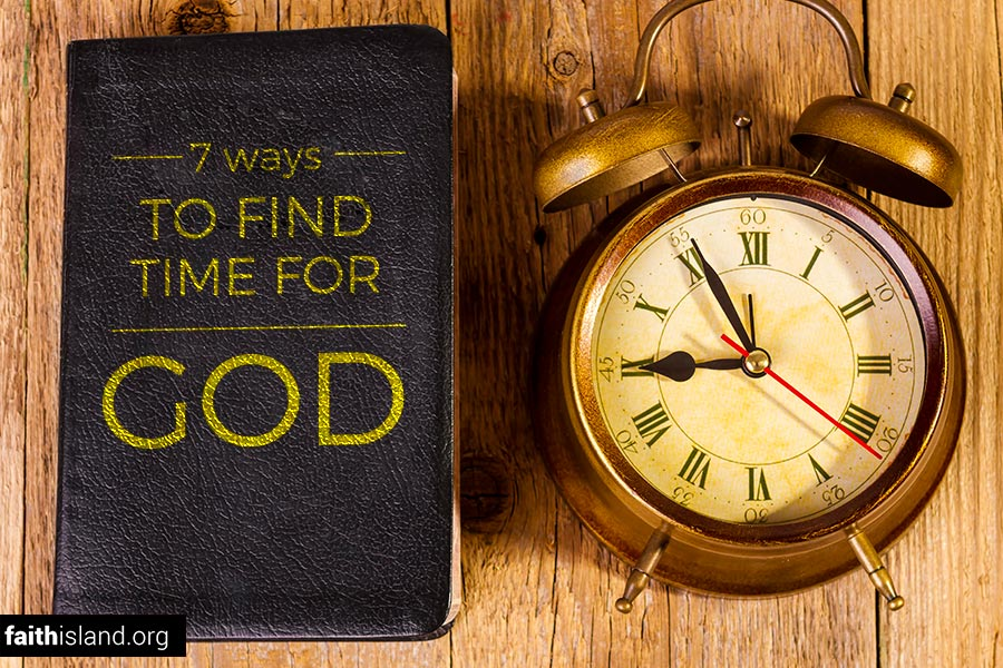 Finding time for God
