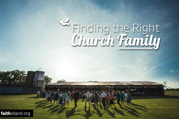Finding the right church family