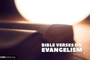 Bible Verses on Evangelism