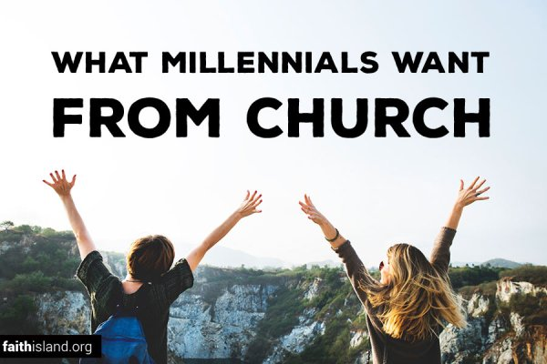 What millennials want from church