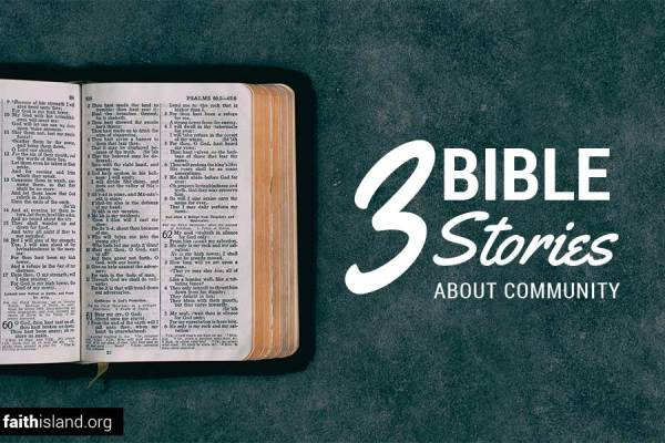 3 Bible verses about community