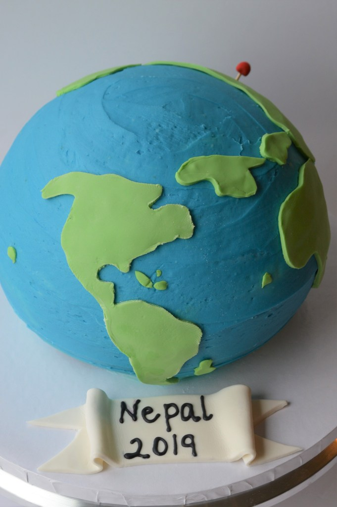 How to Make a globe cake.