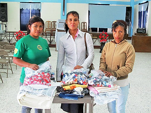 Women in the sewing program in Reynosa