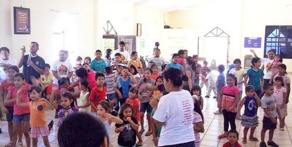 Vacation Bible School in Miguel Aleman