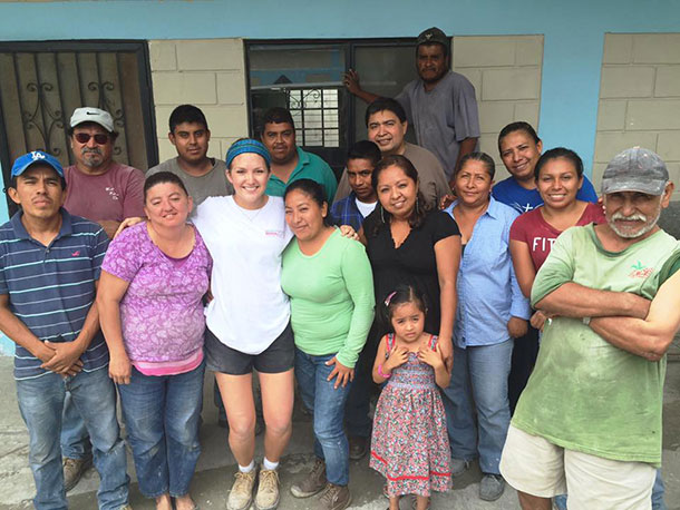 Graciela and the staff and volunteers in Reynosa