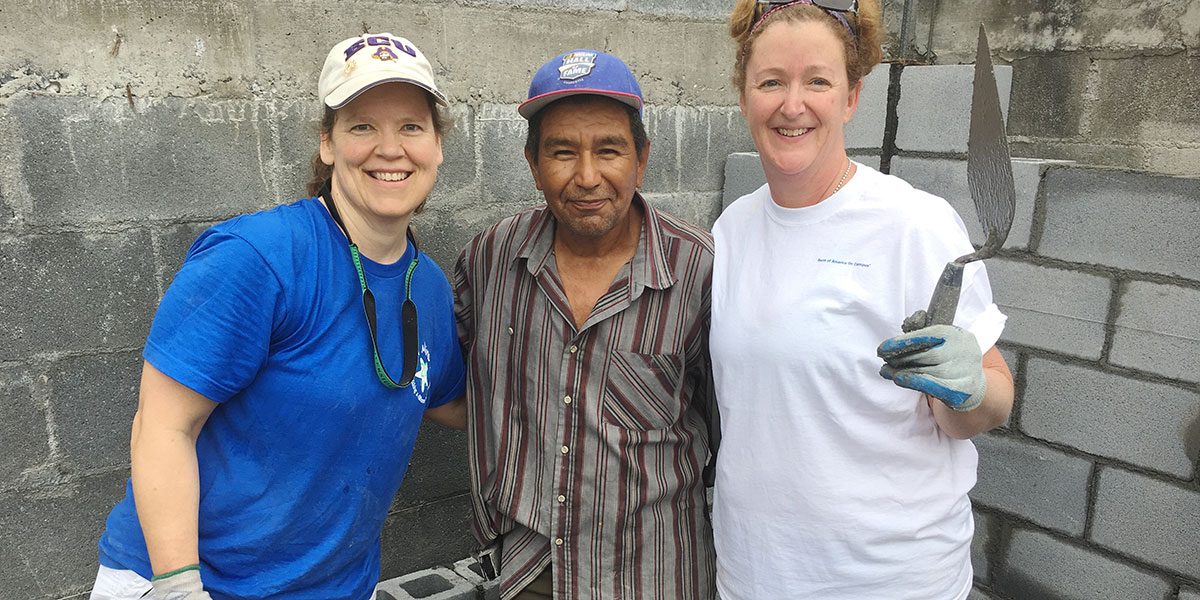 Making friends and working hard in Reynosa