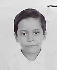 Raul when he started in the scholarship program at nine years old