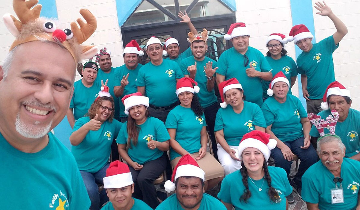 Merry Christmas from the Faith Ministry staff in Reynosa