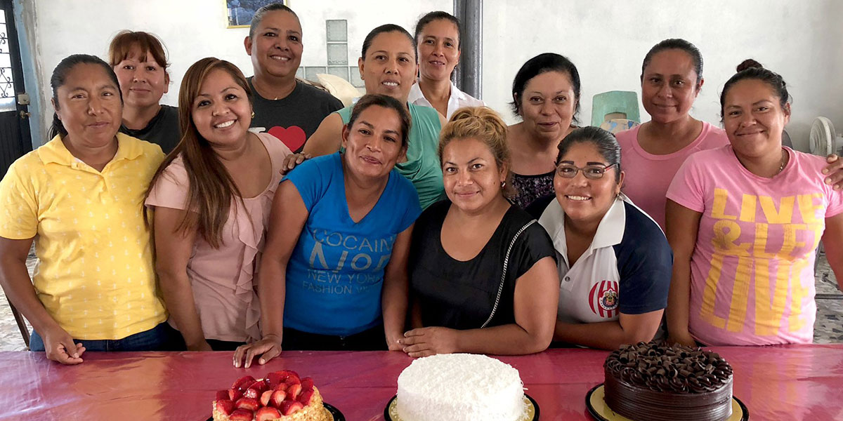 Mothers in Reynosa for Dia de las Madres