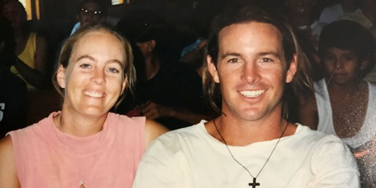 Kelly and Hank in Reynosa in 1995