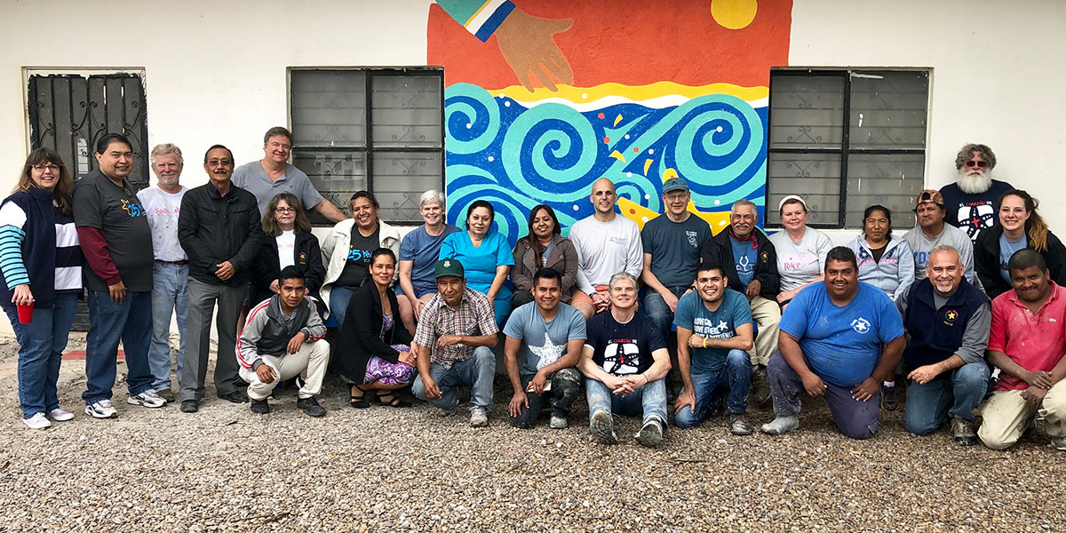 Our staff and Board of Directors in Naranjito