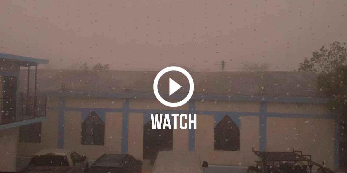 Click to watch the severe thunderstorm that hit Reynosa this week