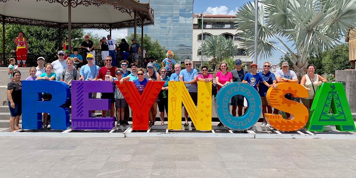 A team from South Carolina in Reynosa Mexico