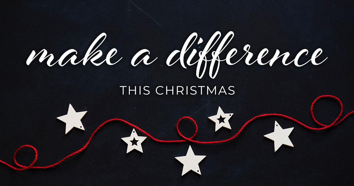 Make a difference this Christmas by gifting through our Alternative Giving Program