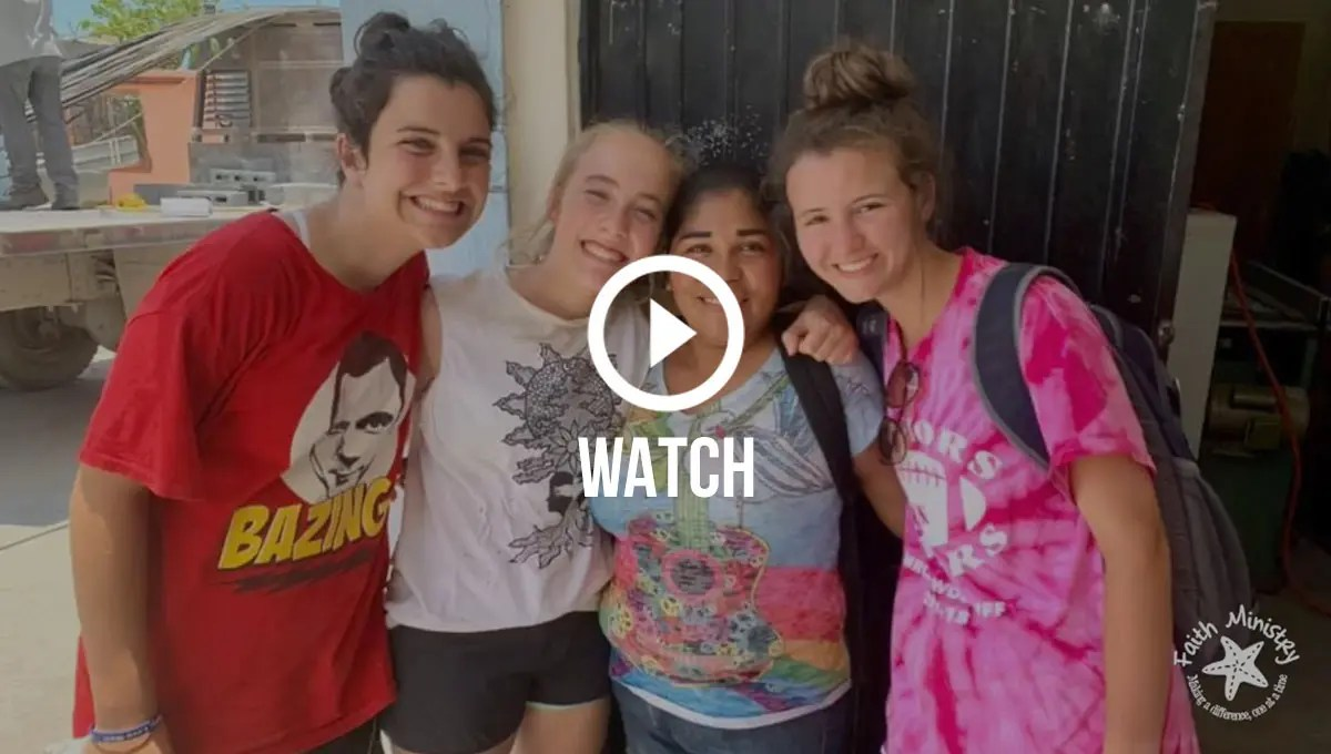 Click to watch photos of our awesome US and Mexican volunteers over the past year
