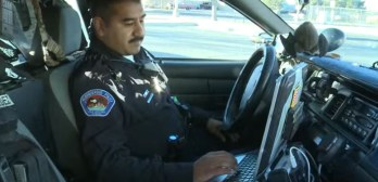 officer finds parents panhandling sick baby