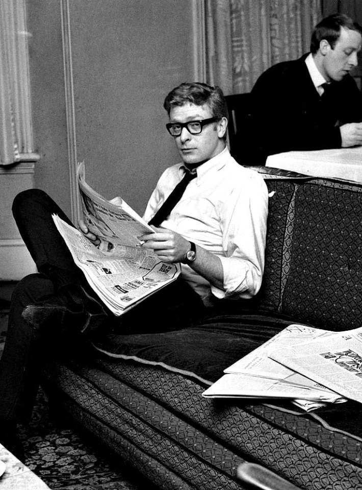 A young Michael Caine in 1959.