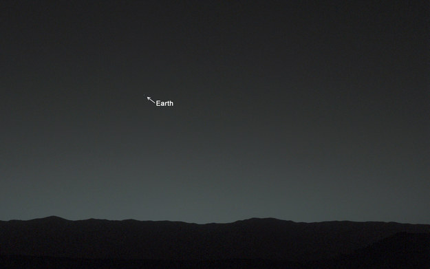 Here's you from Mars: