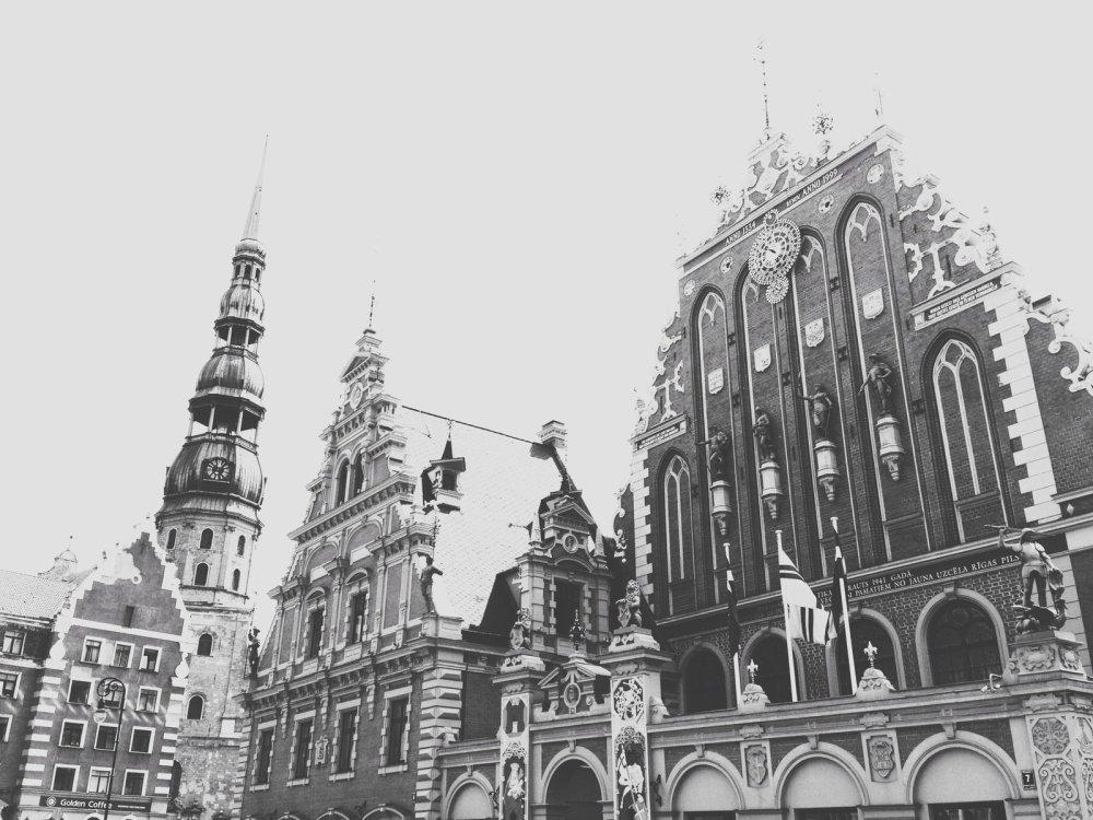 Riga, Latvia, my grandmother's birthplace