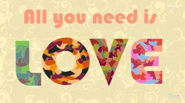 colorful-all-you-need-is-love-wallpaper